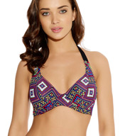 Freya Byzantine Underwire Banded Halter Bikini Swim Top AS3083