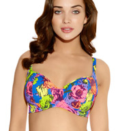 Freya Floral Pop Padded Underwire Bikini Swim Top AS3157