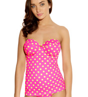 Freya Bon Bon Underwire Bandeau Tankini Swim Top AS3307