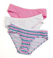 Fruit Of The Loom Ladies' Cotton Hipster Panties Multi 3 Pack 3DLRHAS