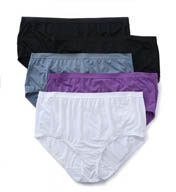 Fruit Of The Loom Assorted Fit For Me Microfiber Panties - 5 Pack 5DM204P