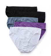 Fruit Of The Loom Fit For Me Microfiber Hi-Cut Panties - 5 Pack 5DM504P