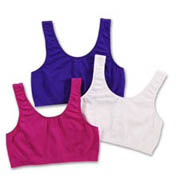 Fruit Of The Loom Santoni Seamless Tank Style Sports Bra - 3 Pack FT434