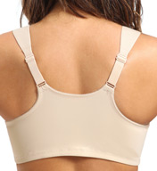 Glamorise Soft Shoulders Front Close T-Back Support Bra 9815