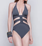 Gottex Dream Weaver Cut Out One Piece Swimsuit 15DW015