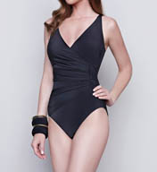 Gottex Dream Weaver V-Neck One Piece Swimsuit 15DW178