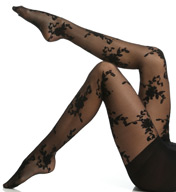 Hanes Scrolled Floral Control Top Pantyhose 0B421