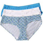 Hanes Cotton Hipster Panties - 3 Pack D41L