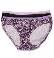 Hanes Cotton Bikini Panties - 3 Pack D42L