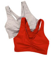 Hanes Cotton Pullover Bra 2 Pack H570