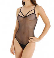 Hanky Panky Fishnet Thong Bodysuit 138014