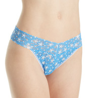 Hanky Panky Original Rise Pattern Thongs 4811PTN