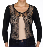 Hanky Panky Lace Front Cardigan 48J304