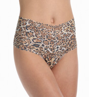 Hanky Panky Leopard Nouveau Retro Thong 4X1922