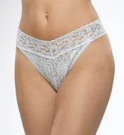 "Hanky Panky ""I Do"" Lace Thong 6511"