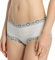Hanky Panky Heather Lace Trim Boyshort Panty 681284