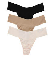 Hanky Panky Bare Eve Thongs - 3 Pack 6J16613