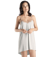 Hanro Teresa High Low Lace Trim Chemise 7765