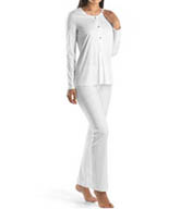 Hanro Tonight Button Front Pajama Set 77754