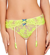 Heidi Klum Intimates Sun Kissed Suspender Belt H11-1229