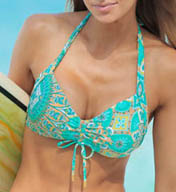 Helen Jon Jamie Sweetheart Halter Swim Top SEP0116