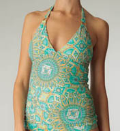 Helen Jon Jamie Halter Tankini Swim Top SEP0123