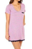 honeydew All American Stripe Sleepshirt 330892