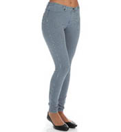 Hue The Pinstripe Jeans Leggings 14266