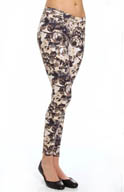 Hue Blooming Sleek Ponte Skimmer Leggings 14293