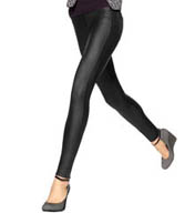 Hue Coated Twill Straight Leg Legging 14546