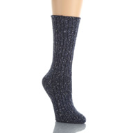 Hue Tweed Ribbed Boot Sock 16072