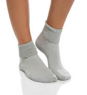 Hue Tonal Turncuff Sock u14149