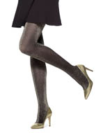 Hue Metallic Tights U15004