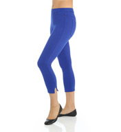 Hue Original Denim Capri With Ankle Slits U15115