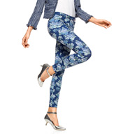 Hue Floral Original Denim Leggings U15377
