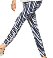 Hue Dot Print Super Smooth Denim Skimmer U15378
