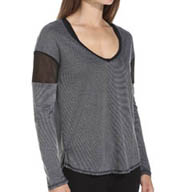 Hurley Beach Active Dri-Fit Novelty Long Sleeve Tee GKT1340
