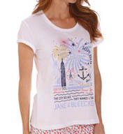 Jane & Bleecker Jersey T-shirt 355750