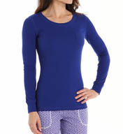 Jane & Bleecker Rib Scoop Neck Tee 355860