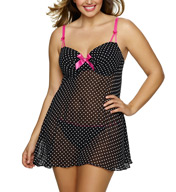 Jezebel Divine Plus Size Babydoll with String Bikini 999893
