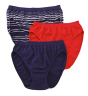 Jockey Comfies Micro Classic Fit French Cut - 3 Pack 3326