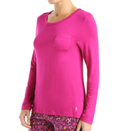 Jockey Autumn Orchard Long Sleeve Solid Top 3351006