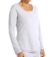 Jockey Parisian Bouquet Longsleeve Henley Top 3351010