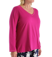 Jockey Autumn Orchard Plus Size Long Sleeve Top 3351020