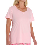 Jockey Nantucket Summer Plus Size Shortsleeve Henley Top 336962X