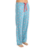 Jockey Holiday Chalet Long Pant with Velvet Drawstring 3381036