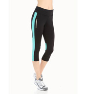 Jockey Glow in the Dark Performance Capri Legging 8534