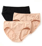 Jockey Elance Cotton Stretch Hipster Panty - 3 Pack 9476