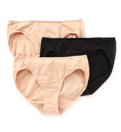 Jockey Elance Cotton Stretch Bikini Panty- 3 Pack 9477