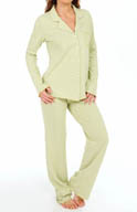 Josie by Natori Sleepwear Coy Notch Pajama Set V96018